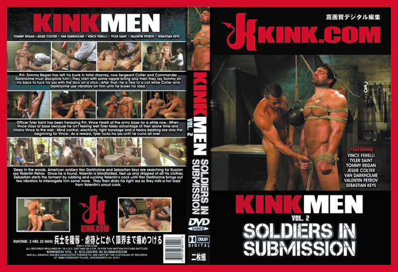 KINKMEN vol.2-SOLDIERS IN SUBMISSION(DVD2枚組)